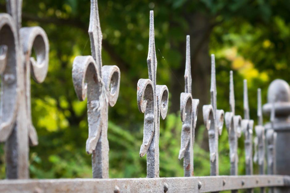 groty do ogrodzeń